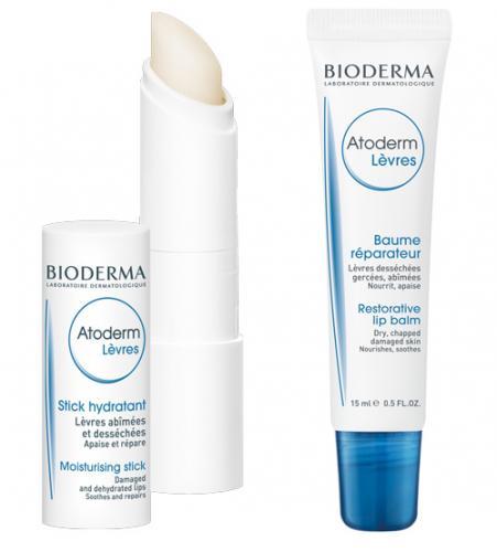 Dudakların koruyucu kalkanı: Atoderm Lip Stick ve Atoderm Lip Balm