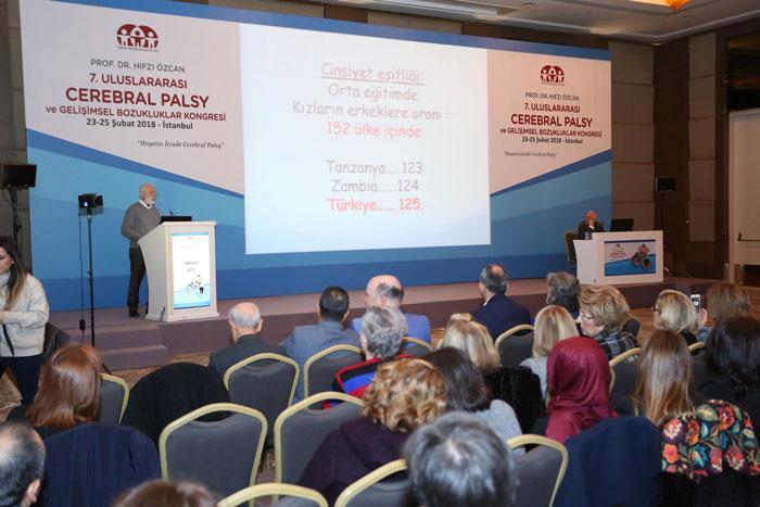 Türkiye Spastik Çocuklar Vakfı'nın düzenlediği kongreye 500 bilim insanı katıldı