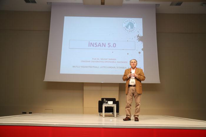 """Prof. Dr. Nevzat Tarhan: """"Mutluluğu yeniden yazmak gerekiyor"""""""