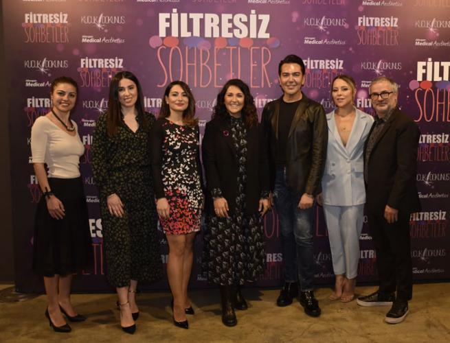 Pınar Kıvılcım (soldan sağa) - Semiha Kaya - Ebru Sağlık - Şah Yaycı - Mustafa Karataş - Aycan Uğur - Seyfi Akbay