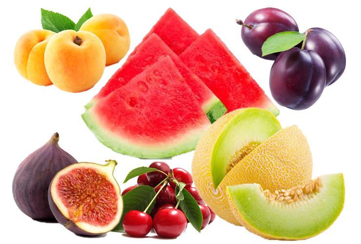 En faydalı 6 yaz meyvesi