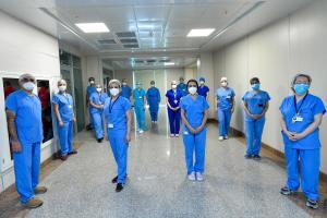 Acıbadem'den 40 kişilik uzman ekip, Azerbaycan'a gitti