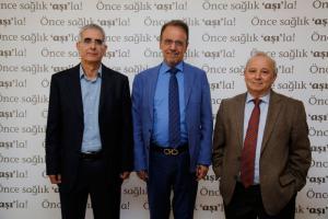(Soldan sağa) MustafaHacimustafaoglu_Mehmet_Ceyhan_Levent_Akin
