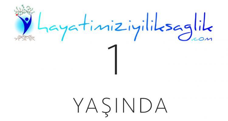 www.hayatimiziyiliksaglik.com 1 yaşında
