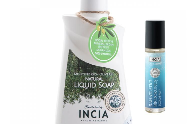INCIA Egzaderm™ kit ile rahat ve sağlıklı bir cilt
