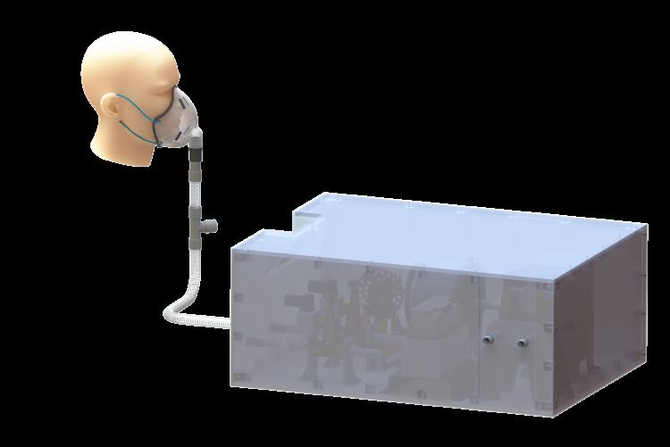 Kovid-19enfeksiyonu geçiren hastaların tedavi hızını artıracak taşınabilir solunum cihazı