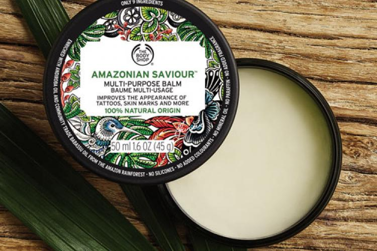 The Body Shop'tan Amazonian Saviour çok amaçlı balsam