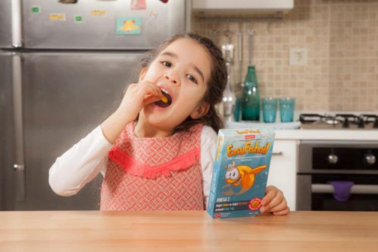 Çocuklar için ezber bozan balık yağı: EasyFishoil